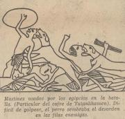 """Lecturas Dominicales, de El Tiempo, del 30 de diciembre de 1962, página 6, titulado """"Los animales en la historia: El Perro. Los Mastines combatieron contra César"""" por Guilio Colombo"""