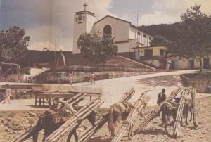 El Colombiano, 24 febrero 1992, p 1b. Foto Wilson Daza.