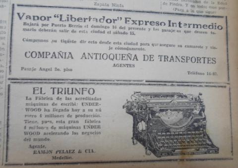 El Heraldo de Antioquia. Febrero de 1930